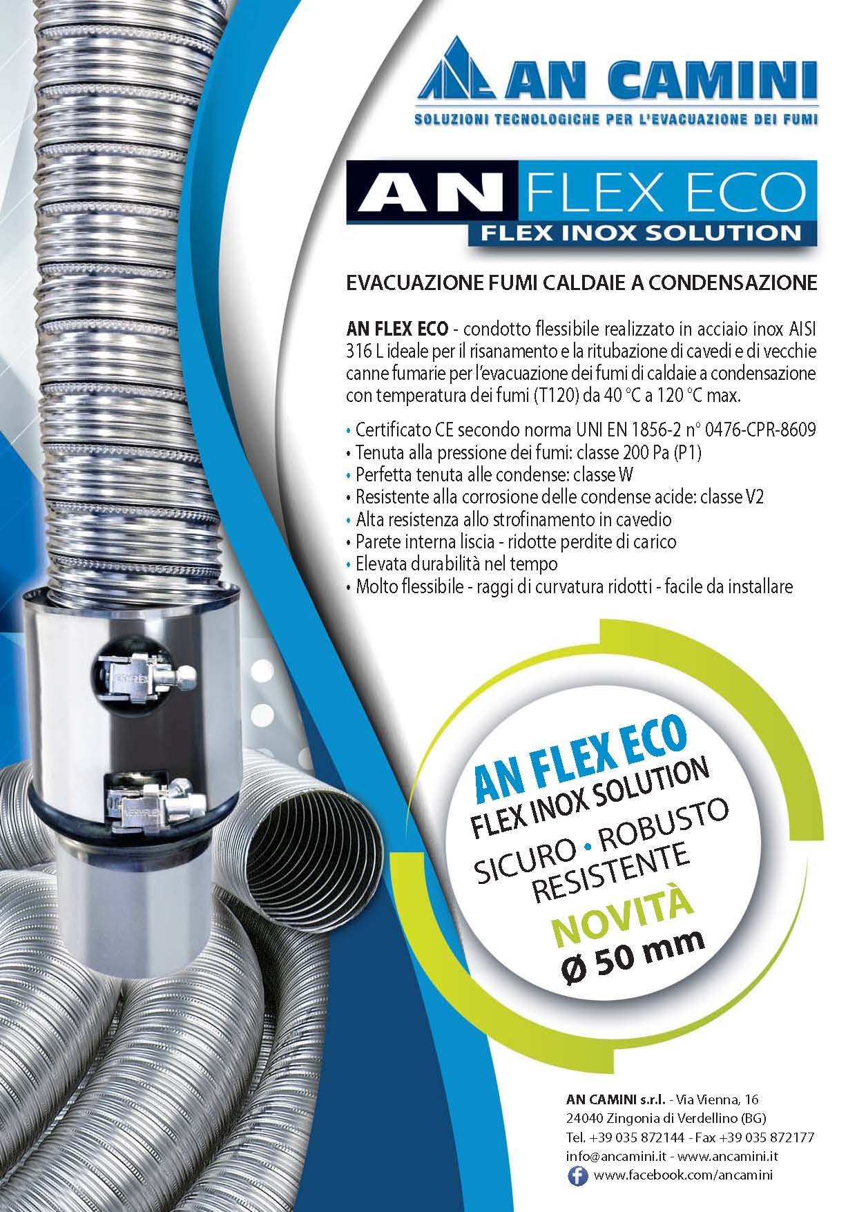 AN FLEX ECO DN50 60 80